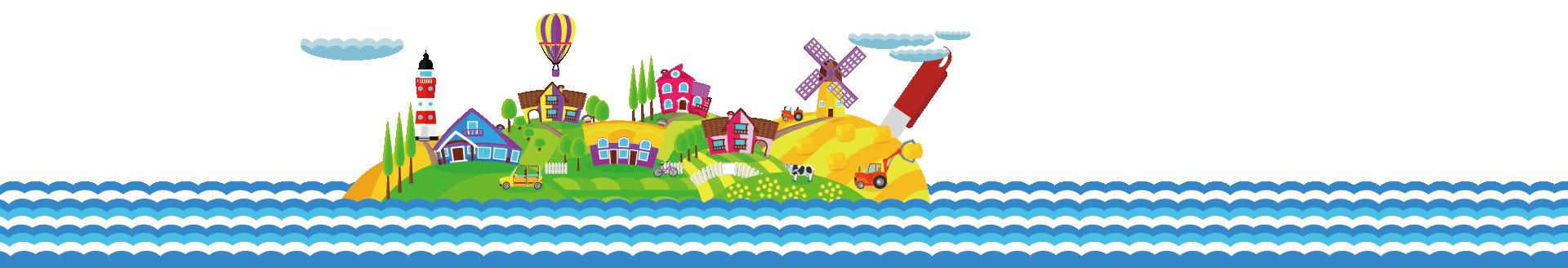 文具の島を探検しよう!